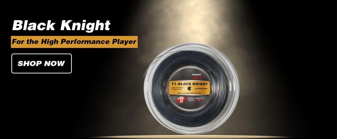 Black Knight - Ultimate Tennis String for the High Performance Player